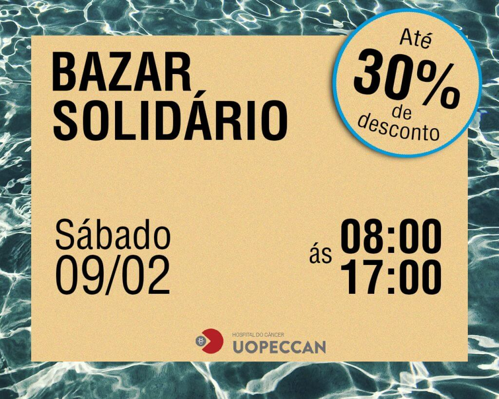 8d5327e76c0 Uopeccan se prepara para o Mega Bazar Solidário - Uopeccan