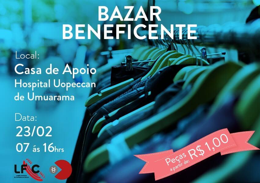 c652418717b Umuarama  Uopeccan realiza Mega Bazar Beneficente - Uopeccan